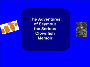 SMART Board: Symour the Clownfish: English: Memoir Vocabulary: Smartboard