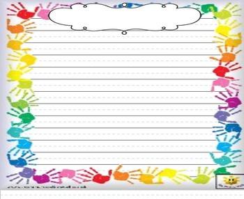 SMART Board Writing Frames - Lined