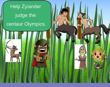 SMART Board: Zyiander of Isanthrall: English: Vocabulary Memoir Terms
