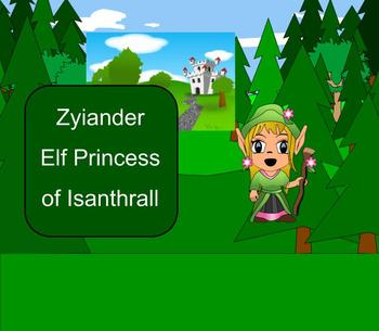 SMART Board: Zyiander of Isanthrall: English: Vocabulary M