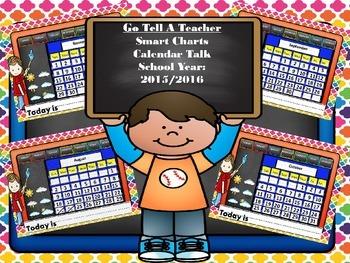 SMART CHART- Daily Calendar