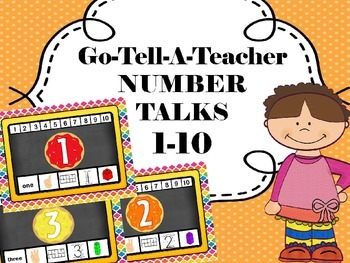 SMART CHARTS- Number Talks 1-10