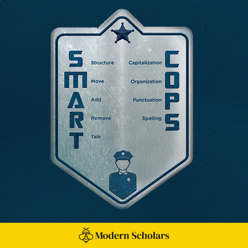 SMART COPS Badge Poster