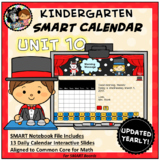 SMART Calendar - Kindergarten UNIT 10 (for SMART Boards)
