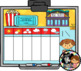 SMART Calendar - Kindergarten UNIT 4 (for SMART Boards)