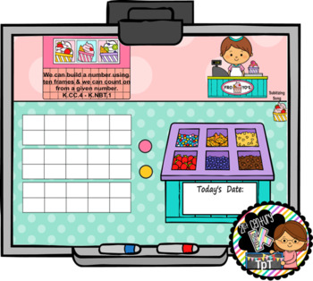 SMART Calendar - Kindergarten UNIT 6 (for SMART Boards)