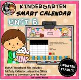 SMART Calendar - Kindergarten UNIT 8 (for SMART Boards)