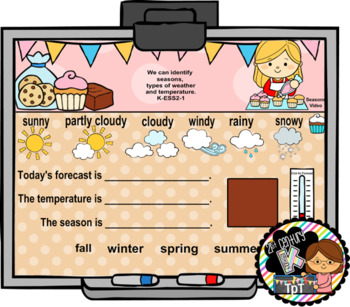 SMART Calendar - Kindergarten UNIT 8 (for SMART Boards)