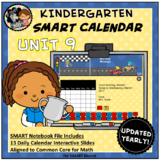SMART Calendar - Kindergarten UNIT 9 (for SMART Boards)
