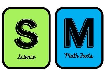 SMART Centers!  (Bright & Black)