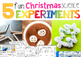 SMART Christmas Activities: Science, Math, Art, Reading and Take Home for K-1