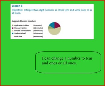SMART Files for NYS 1st grade Math Module 4 Lessons in Topic B (7-10)