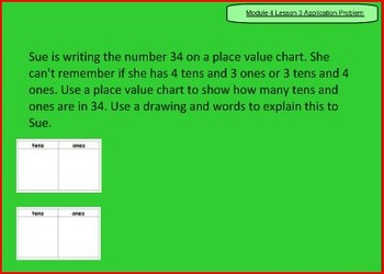 SMART Files for NYS 1st grade Math Module 4 Lessons in Topic D (13-18)