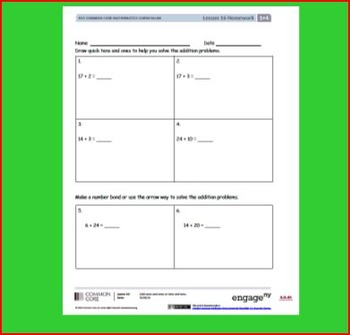 SMART Files for NYS 1st grade Math Module 4 Lessons in Topic E (19-22)