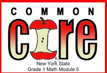 SMART Files for NYS 1st grade Math Module 5 Lessons in Topic B (4-6)