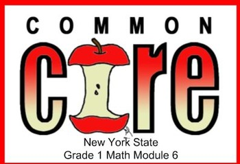 SMART Files for NYS 1st grade Math Module 6 Lessons in Topic E (20-24)