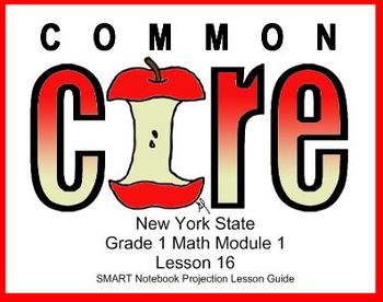 SMART Files for NYS Math Module Lessons in Topic E for First Grade