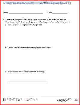 SMART Files for NYS Math Module Mid-Module Assessment Task
