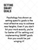 SMART Financial Goal Setting Worksheet