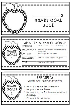 S.M.A.R.T. GOAL FLIP BOOK FOR KIDS