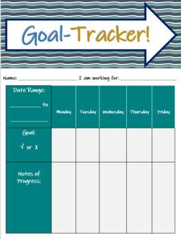 SMART GOAL Worksheet