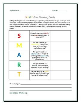 SMART Goal Planning Guide