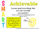 SMART Goal Posters for your classroom!