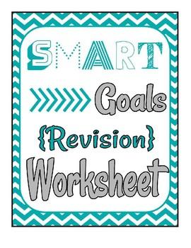 SMART Goal Revision Worksheet - Fully Editable in Google Docs!