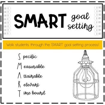 SMART Goal Setting Graphic Organizer