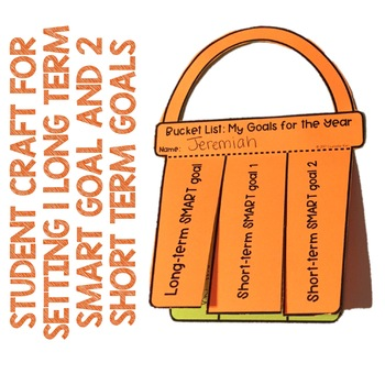 SMART Goal Setting, Long- and Short-Term Goals Classroom Guidance Lesson