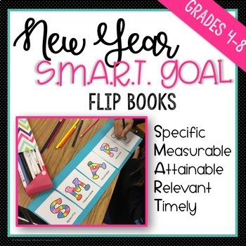 SMART Goal Setting - New Year Flipbook / Foldable