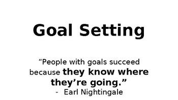 SMART Goal Setting PowerPoint Lesson