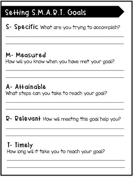 SMART Goal Setting & Reflection