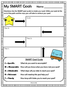 SMART Goal Sheet and Reflection