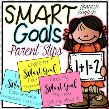 SMART Goal Slip Parent Contact English/ Spanish Translation