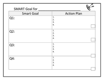 SMART Goal Student Worksheet