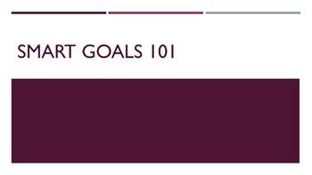 SMART Goals 101 Lesson