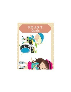 S.M.A.R.T. Goals - 36 Task Cards