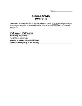 SMART Goals Activity - Entrepreneurship Ch. 1.3 - 1.4