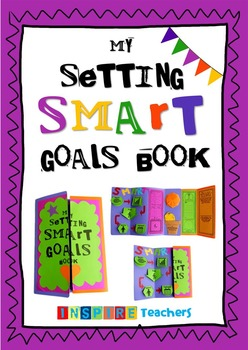 SMART Goals Book - interactive lapbook
