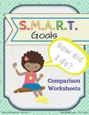 SMART Goals - Comparison Worksheets