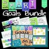 SMART Goals - Huge Bundle! (Bulletin Board, Worksheets, Po