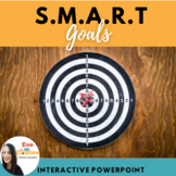 SMART Goals Interactive PowerPoint (includes Posters!)