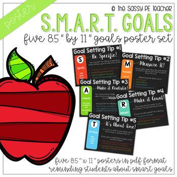 SMART Goals Mini Poster Set