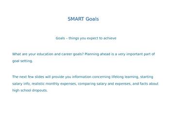 Exploring Careers: SMART Goals - PowerPoint Presentation