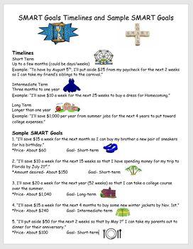 SMART Goals- SMART Goals Timelines and Sample SMART Goals