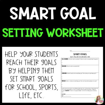 SMART Goals Setting with Students