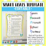 SMART Goals Template - Editable