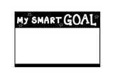 SMART Goals Template ****Editable (Great as desks labels)