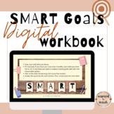 SMART Goals Template- Workbook for Goal Setting- Distance